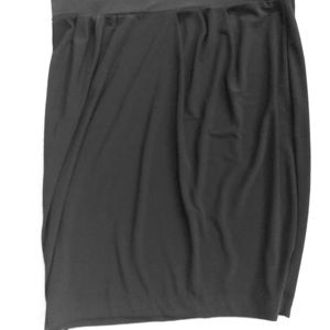 Black skirt  light weight pull on
